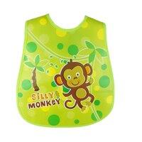 Plastic Schort Acessorios Zomer Slabbetje Para Menino Accessoires Baby Zachte Slabbetjes Waterdichte Cartoon Kids Fashion Cartoon 504027