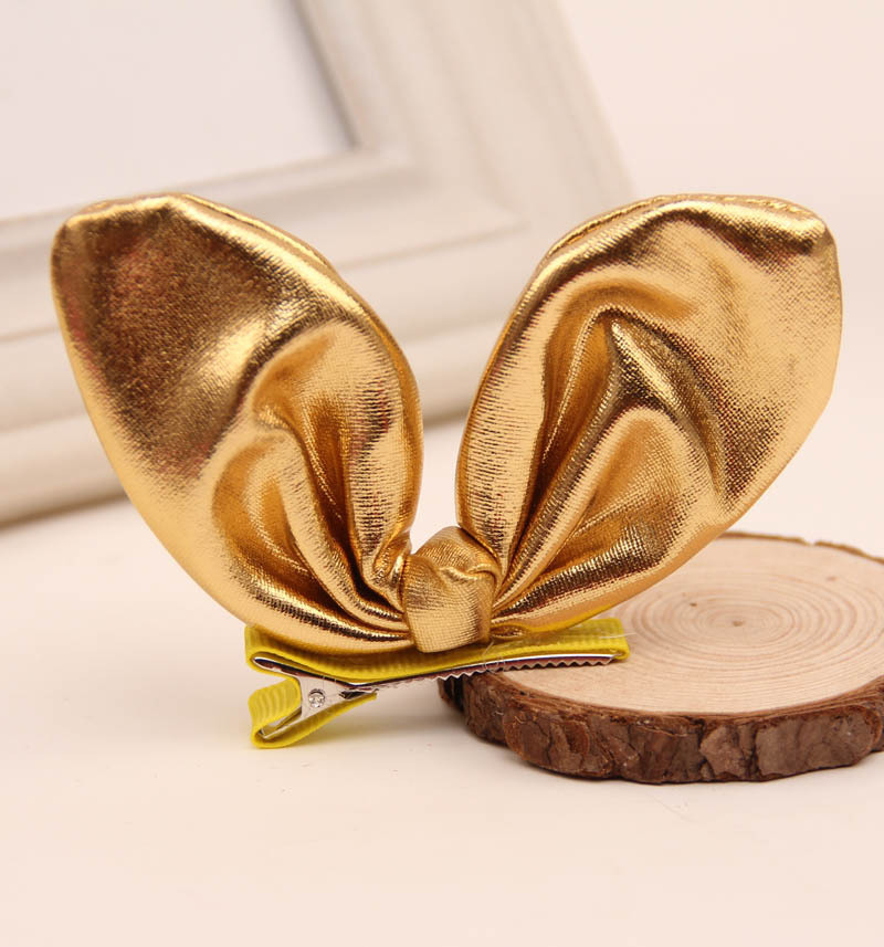 1 pcs New Sweet Lovely Girls Kids' Rabbit Ear Hair Clip Bow Hairpin Headdress Hair Band Accessories baby cute style children accessories hairpins rabbit fur ear kids girls barrette lovely hair clip