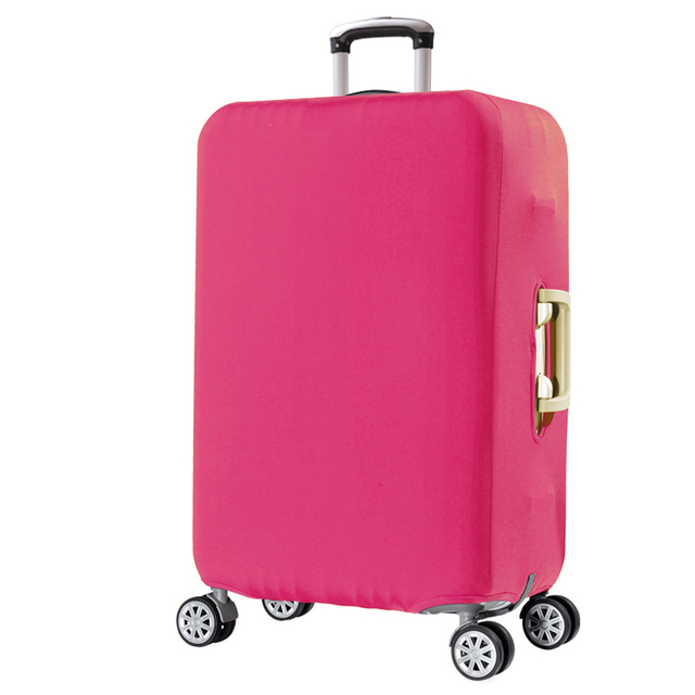 Travel Luggage Protective Cover Solid Stretch Fabric For 18 To 30 Inch