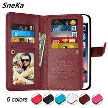 Case For Xiaomi Redmi Note 5 Pro Cover For Redmi Note 5 Case For Redmi Note 5 Global Version Flip Leather Wallet Multi-card Bags