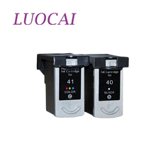 LuoCai Compatible Ink Cartridges For Canon PG 40 CL 41 PIXMA iP1600 iP1200 iP1900 MX300 MX310 MP140 MP150 PG40 CL41 printer