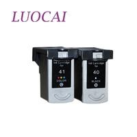 LuoCai Compatible Ink Cartridges For Canon PG 40 CL 41 PIXMA iP1600 iP1200 iP1900 MX300 MX310 MP140 MP150 PG40 CL41 printer PG40