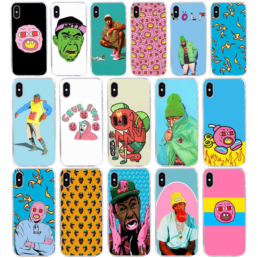 ab72858fc971c 276S Tyler The Creator OFWGKTA Odd Future Golf Wang Green gift Soft  Silicone Tpu Cover phone Case for iphone 5 5s se X XR XS Max