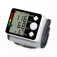 Метр кровяного давления монитор 2017 Цифровой вист портативный Автоматический Тонометр для измерения главная здравоохранения
