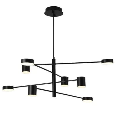 Modern Fashion Black Gold White Long Led Ceiling Suspended Chandelier Light Lamp for Hall Kitchen Living Room Loft BedroomModern Fashion Black Gold White Long Led Ceiling Suspended Chandelier Light Lamp for Hall Kitchen Living Room Loft Bedroom