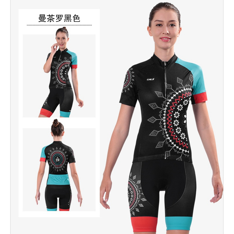 Cycling Clothing Suit Bikes Short Sleeve Bike Clothing Womens Cycling Clothing Ropa Cicl ...