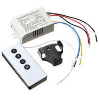 3 Way Port ON OFF Wireless Digital RF Remote Control Switch Receiver Transmitter For Light Lamp