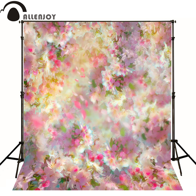 Allenjoy photography backdrops Romantic aesthetic pink flowers photo background newborn baby photocall lovely photo studio allenjoy photography backdrops school study room bookshelf photo studio background newborn baby photocall