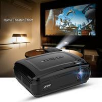 1080 p Mini proyector de cine en casa Super gran pantalla 3000: 1 estéreo sonido circundante 16,7 K HD proyector ee.uu. Plug