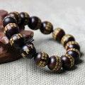 1.5 cm Grande Compaixão Mantra Tibetano Budismo Sândalo Vermelho Oração Talão Mala Jóias Naturais