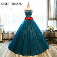 Зеленые пышные платья атласные с Цветочная лента Бальные Gownsweet 16 платья Бальные платья Vestidos De 15 Anos Vestido Rosa