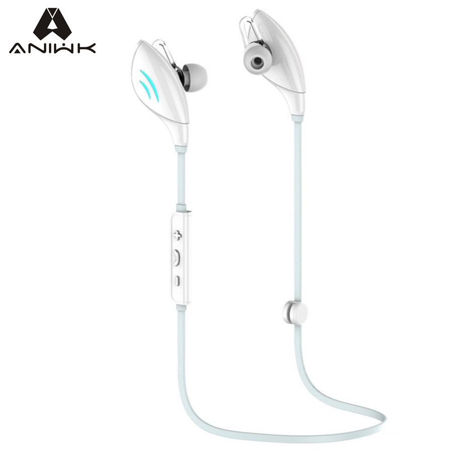 Aniwk Q7 Bluetooth Headset Wireless Earphone Headphone 4.0 Bluetooth Earpiece With Mic Sport Running Stereo Earbuds Auriculares