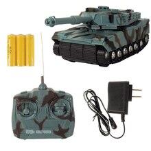 Abbyfrank rc Танк боевой танк Модель 1:22 360 Вращение Музыка Светодиодный радио дистанционное управление боевые пластиковые игрушки гусеничный трактор
