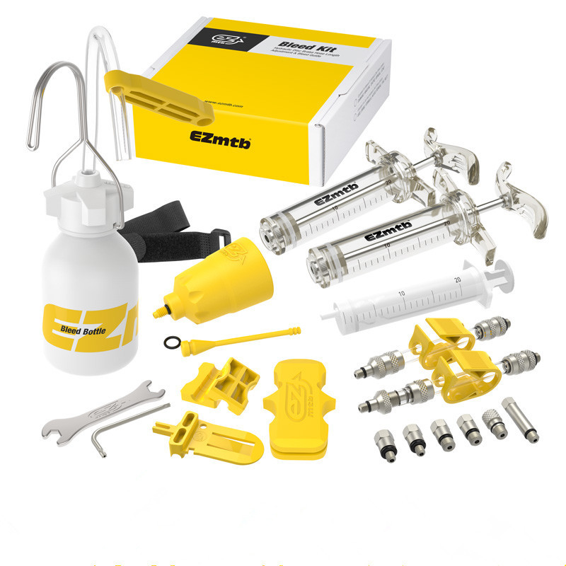EZ MTB Brake Bleeding Kit for Hydraulic Disc Brake Shimano and Tektro