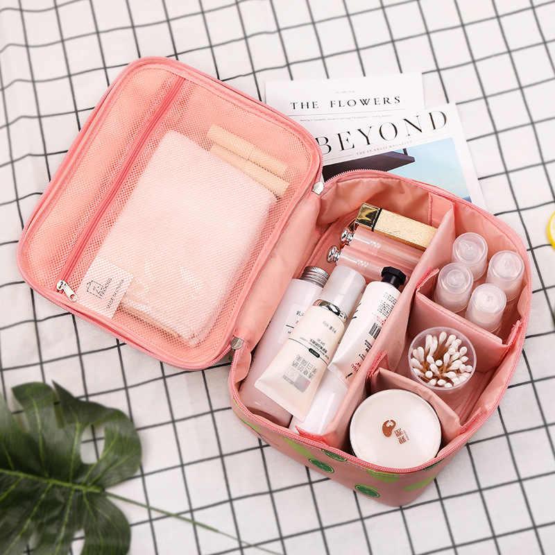 Travel Lipat Tas Kosmetik Wanita Portable Make Up Tahan Air Tas Wanita Adjustable Olahraga Yoga Kebugaran Jogging Kolam Tas