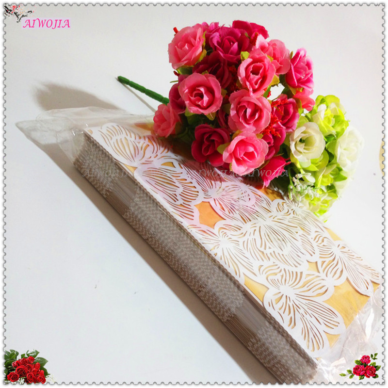 10pcs hot sale wedding decorations flower laser cut wedding 10pcs hot sale wedding decorations flower laser cut wedding invitations party table name place cards favor decor 7zsh072 in cards invitations from home junglespirit Image collections