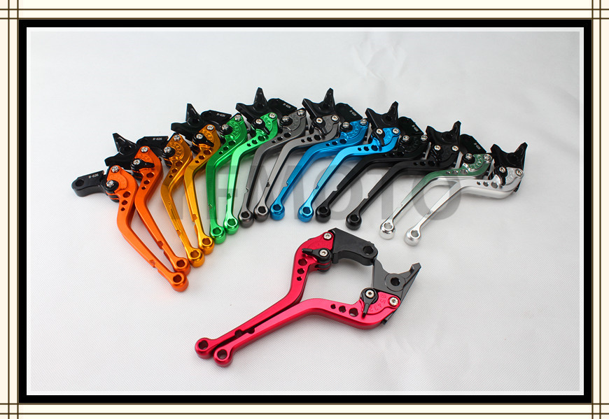 8 Color  Brake Clutch Long  Levers For  Honda VFR800 1998-2001 CBR1100XX / BLACKBIRD 1997-2007 ST1300/ST1300A 2003-2007 стоимость