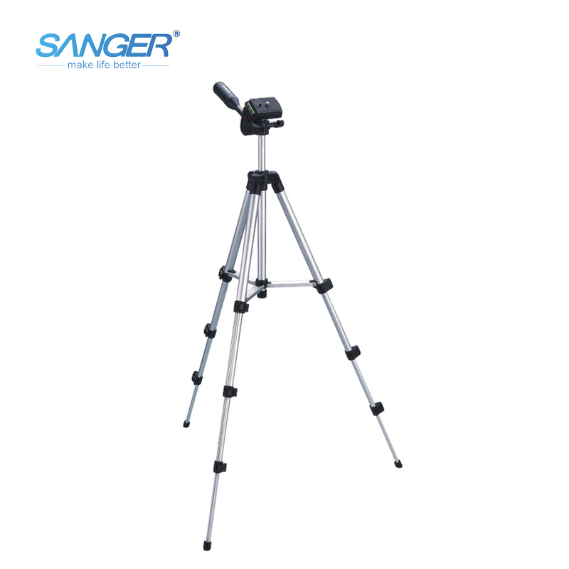 SANGER Light Weight Tripode 50 Inch Aluminum Multi-function SLR Sports Action Camera Cellphone Mini Tripod with Phone Holder