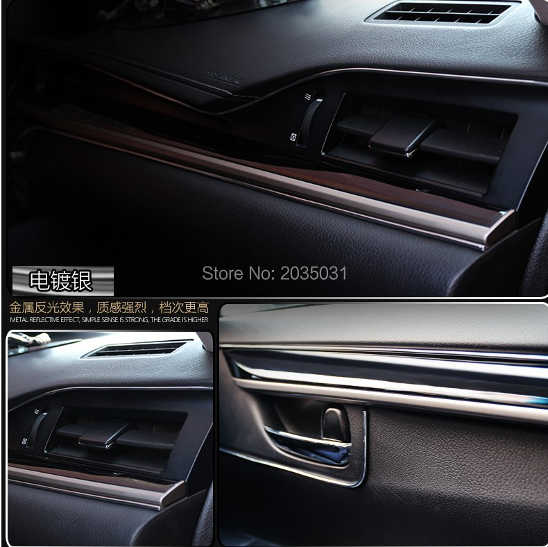 1f19732401c 5M HO Car styling Refitting accessories for mitsubishi pajero sport lancer  10 bmw e46 ford mondeo 4 nissan note Accessories-in Interior Mouldings from  ...