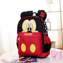 Hot Kids Cartoon Backpack Primary Children Cartoon mickey School Bags Waterproof
