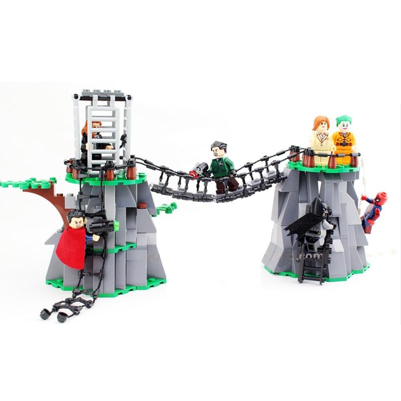 3Pcs Chain Bridge Rope Ladder Helicopter Block Part Building Blocks Models City Street Scene Building Blocks Part Toy  Kid Toys