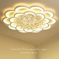 Современные творчества оборудования акрил кристалл потолочный светильник для гостиной лампа в спальне коммерческих декоративный потолоч