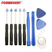 11 в 1 открывающийся инструмент для ремонта мобильных телефонов Набор отверток Набор для Iphone samsung huawei xiaomi phone