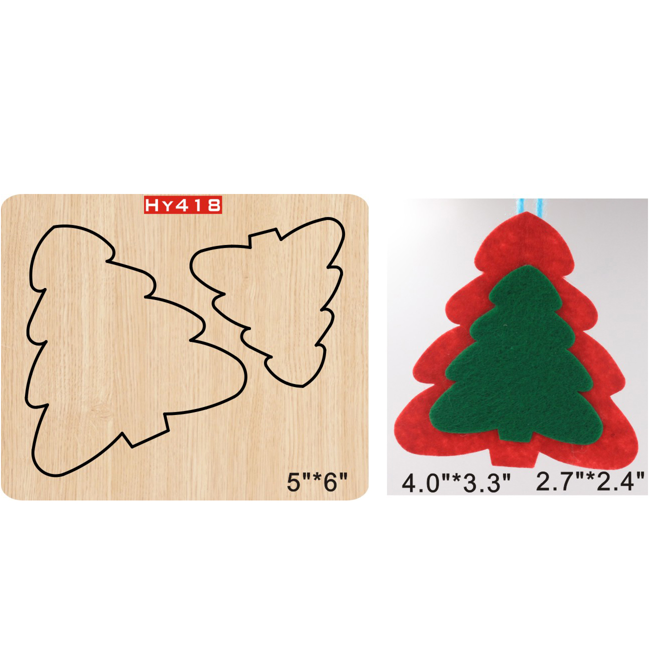 Christmas Tree Decoration Cutting Dies 2019 Die Cut &wooden Dies Suitable  For Common Die Cutting  Machines On The Market