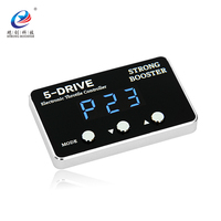 2018 Auto speedy controller motor Strong Booster car throttle response control for JAC S2 with silver frame black house blue LED
