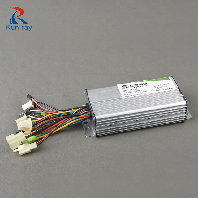 YIYUN YK89S 36V 48V 500W Electric Bike Brushless Motor Controller, Ebike Controller,E scooter accessories Controller