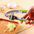 VILEAD Garlic Press Hand Presser Crusher Ginger Squeezer Slicer Masher Kitchen Tool
