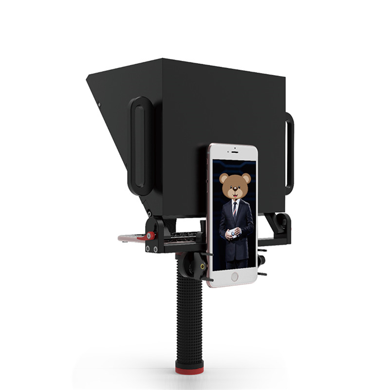 Phone Teleprompter for 4 7 Inch Smartphone Shooting Tips