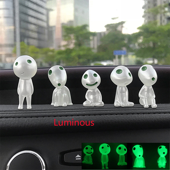 For BMW E92 E53 X3 f25 E34 Audi A6 C6 A5 B7 Q5 C5 Abarth Ford Fiesta MondeoCar Ornaments Dashboard Led Luminous Decoration Doll image