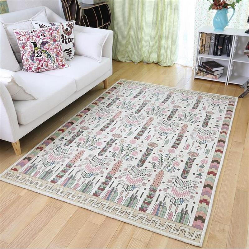 Japanese Korean Simple Carpets For Living Room Sofa Coffee Table Floor Mat Home Decor