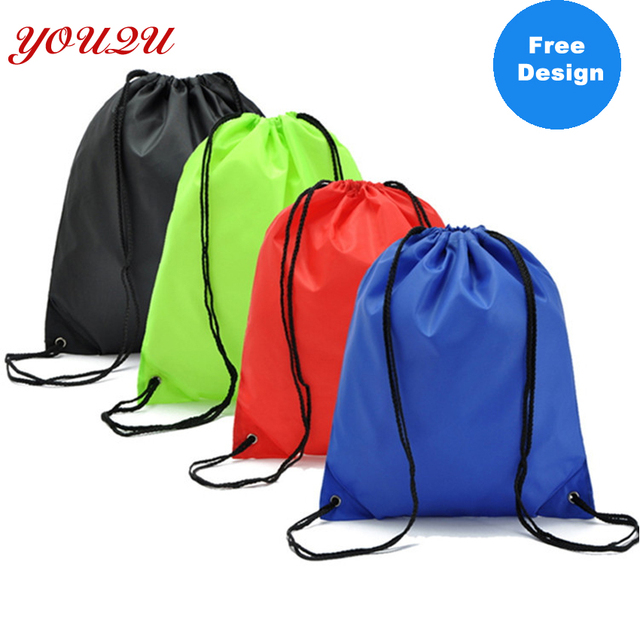 fashion kids backpacks diy drawstring backpack draw string bags with