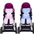 Carrinho de bebê carrinho de criança do guarda-chuva carro almofada de seda gelo de verão cadeira mesa almofada carrinho acessórios Qyt06