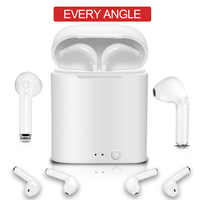 TWS i7s Sport Bluetooth Headset with Stereo Wireless Microphone Wireless Headset Earphone PK i7s mini Q32 Bluetooth earphone