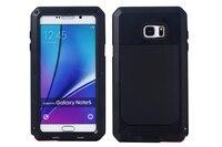 Luxury Doom Armor Dirt Shock Proof Metal Aluminum Mobile Phone Bag Case For Samsung Galaxy S7