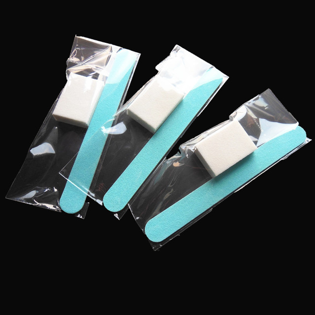 50 unids mini set de manicura pedicura Kit de uñas desechables Hotel ...