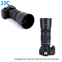 JJC ABS Lens Hood Shade For Canon EF 70 300mm F 4 5 6 IS II