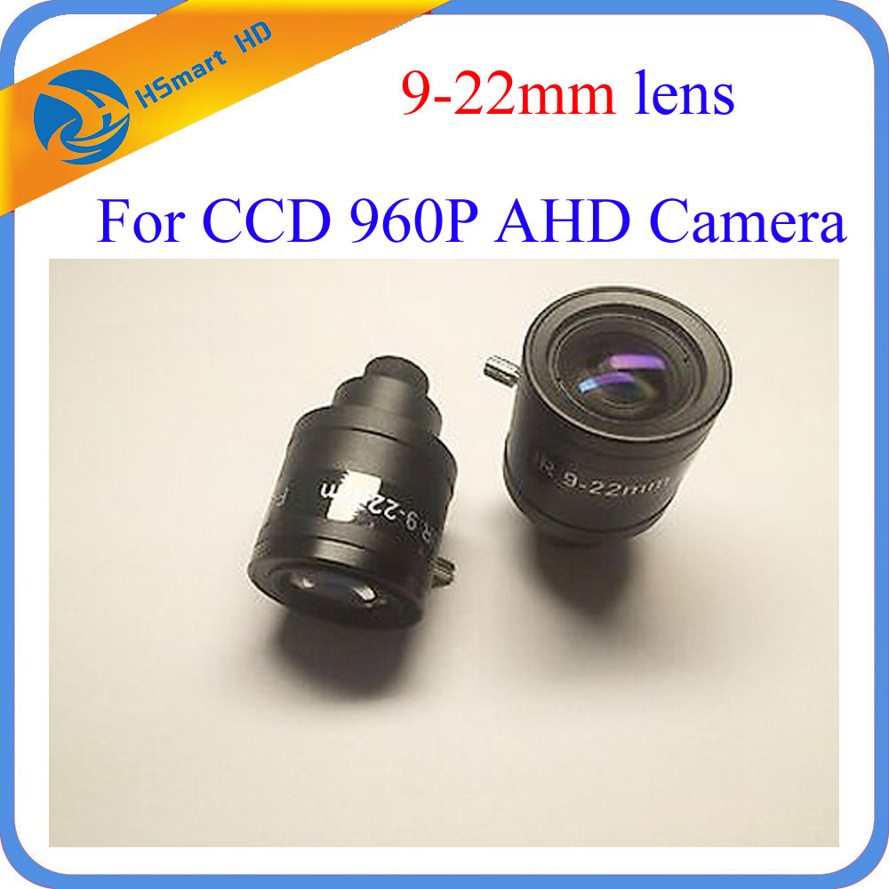 New 1.30MP 960P HD 9-22mm cctv lens M12 Manual Zoom Manual Focus MTV HD Lens for HD IP TVI CVI AHD Security Camera dvr systems image