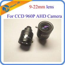 New 1.30MP 960P HD 9-22mm cctv lens M12 Manual Zoom Manual Focus MTV HD Lens for HD IP TVI CVI AHD Security Camera dvr systems