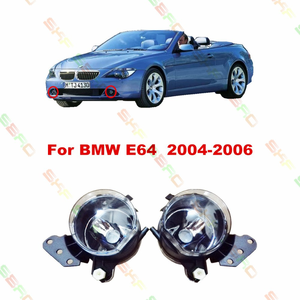 Car styling Fog Lamps  For BMW E64  2004/05/06  12 V   1 SET FOG LIGHTS цена 2017