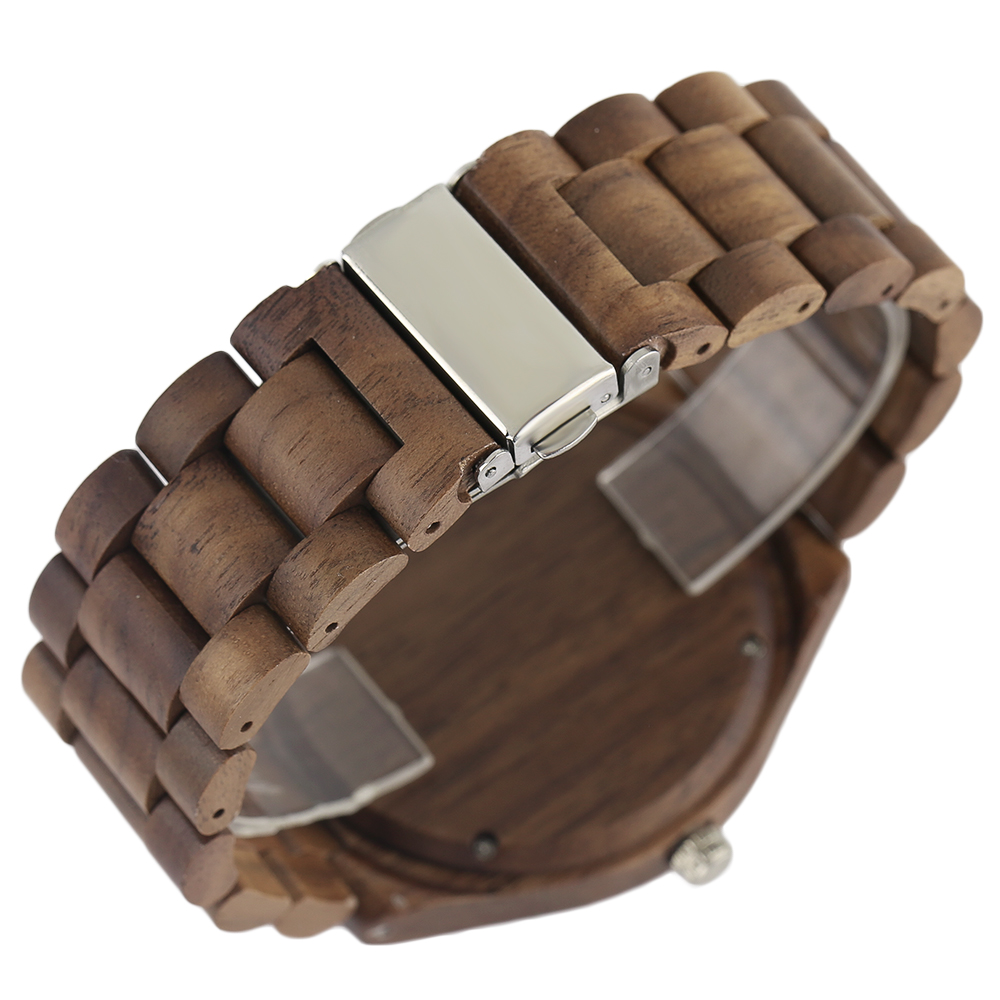 YISUYA Nature Bamboo Wood Creative Watches Men Casual Sport Wooden Quartz Wrist Watch Men Women Flod Clasp Band Bangle Clock  (19)