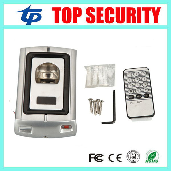 где купить Good quality F007 metal fingerprint door access control system standalone door security fingerprint reader access controller дешево
