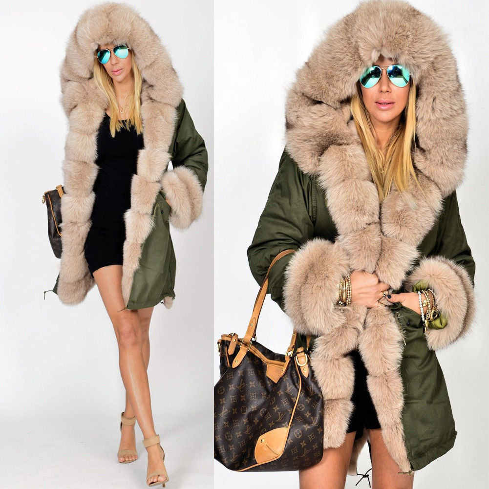 Europe and the United States hot autumn and winter, new warm comfortable coat explosion fashion, self-cultivation beautiful coat europe and the united states long sleeve hooded keep out the cold winter to keep warm and comfortable cotton coat