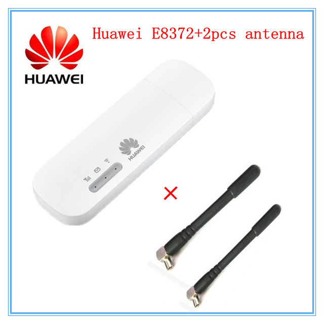 Huawei E8372 Wingle E8372h-153 Car Hotspot 4g Router Sim Slot Antenna Mifi 4g Unloked Router Wifi E8372h-608 Pocket Wifi