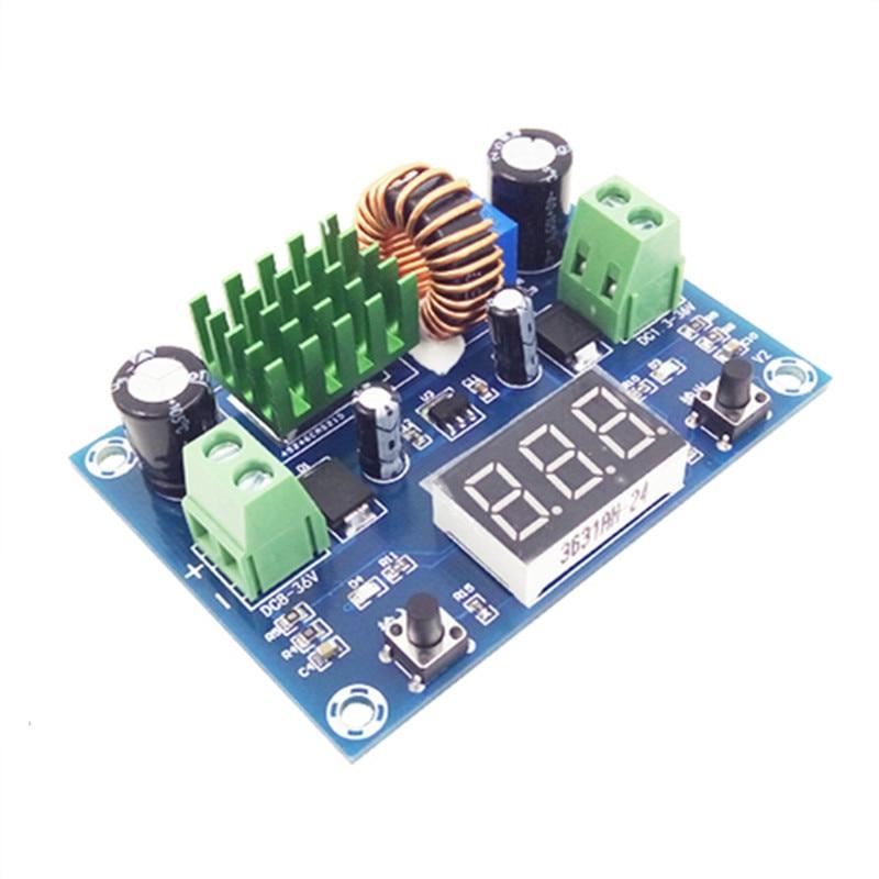 digital voltage regulator module XL4015E1 switch type voltage regulator output 1.3-36V current 5A XH-M291