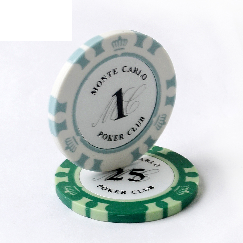 Monte Carlo Design High Quality Poker Chips 14g Clay/Iron/Abs Casino Chips Texas HoldEm Poker Wholesale Crowne Poker Chips