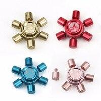 New Fidget Toy Hand Spinner Metal Finger Stress Spinner High Quality Bearing EDC Assemble